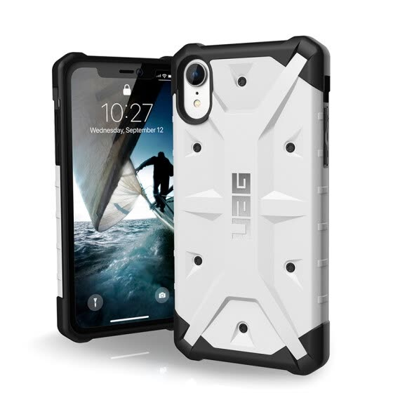 UAG Apple iPhone Xr (6.1 inch) anti-drop phone case / protective shell explorer series white