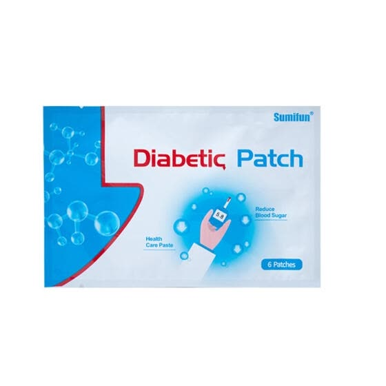 Sumifun 6pcs/pack Diabetic Patch Diabetes Herbal Cure Lower Blood Glucose