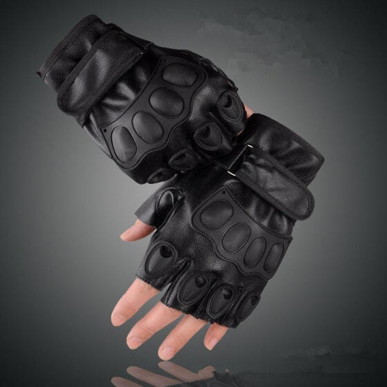 Ourdoor Sport Fishing Tactical Cycling Bicycle Half Finger Fingerless Gloves New