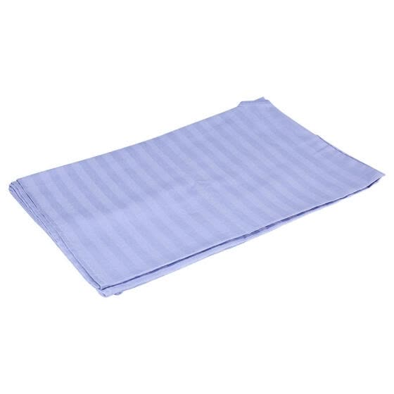 Greensen Soft Cotton Stripe Beauty Salon Sheet SPA Treatment Bed Cover With Face Breath Hole