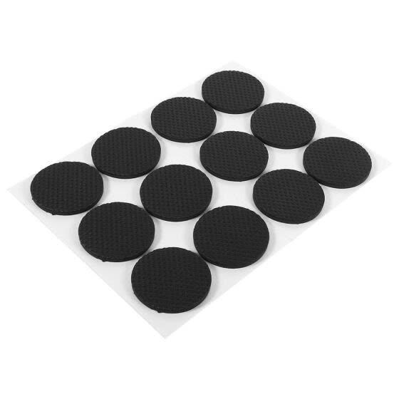 Black Self Adhesive Floor Protectors