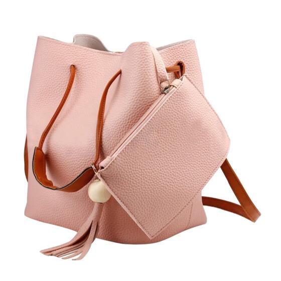 Women Bag PU Leather Handbag Satchel Messenger Shoulder Cross Body Bag Purse