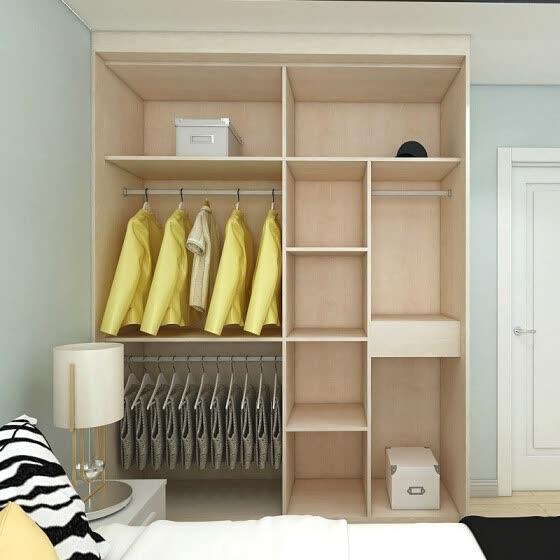 Shop Haolilaijiaju Bedroom Sliding Door Cabinet Simple 6290 Online From Best Bedroom Furniture On Jd Com Global Site Joybuy Com
