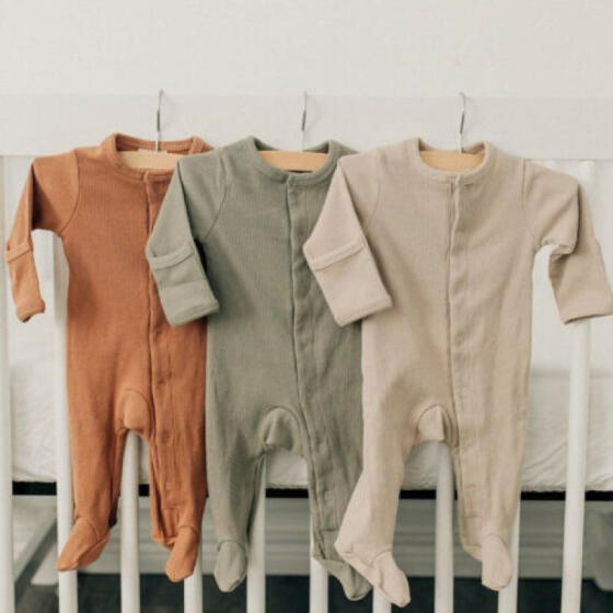 Newborn Infant Baby Girls Boy Fox Romper Bodysuit Playsuit Outfits Clothes 0-24M