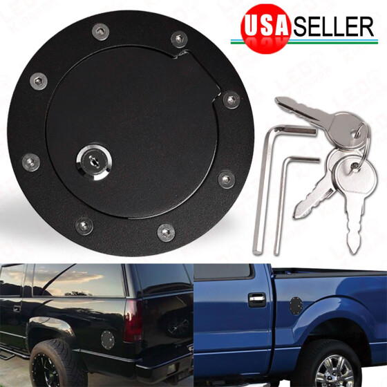 Fuel Gas Door w//Lock for Ford Excursion Expedition F250 F350 Super Duty Lincoln Navigator