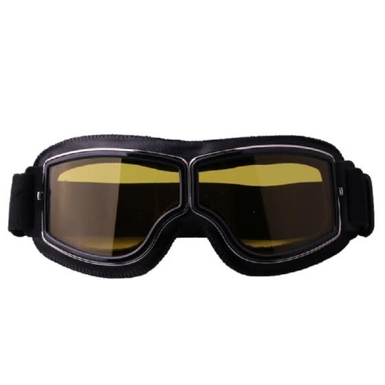 Fashion Retro Style Vintage Motorcycle Goggles Helmet Protective Eyewear for Outdoor Sports