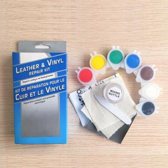 Shop DIY Leather Repair Kit Professional Vinyl Restoration ...