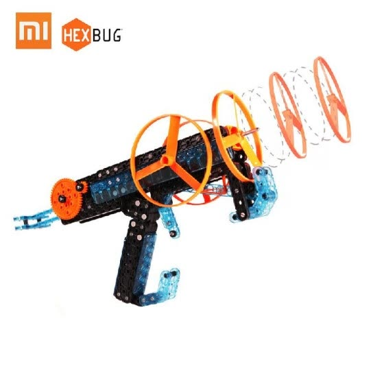 Xiaomi HEXBUG Robot DIY Blocks Toy Building Bricks Outdoor Bamboo Flying Raft Kids Toy Gifts 185 pcs/lot