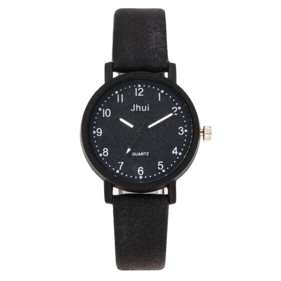 Simple digital quartz watch fashion matte quality brand watch woman