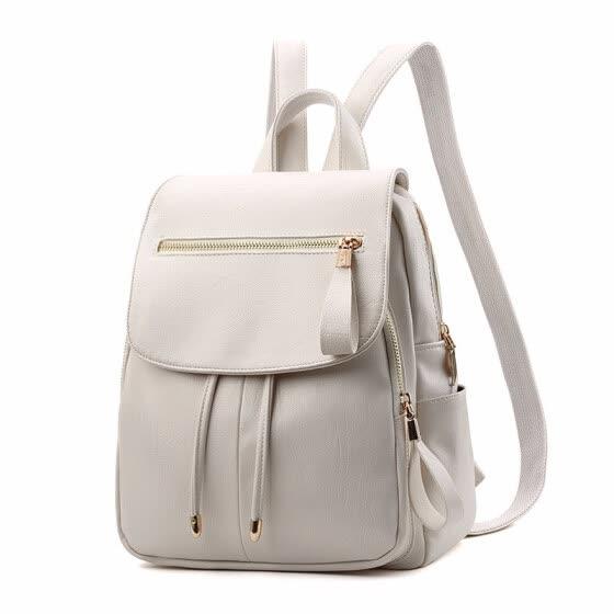 Black Female Backpack for Teens Backpacks Woman 2018 Bagpack for Girls PU  Leather Backbag Bags Ladies a11d480a6d915