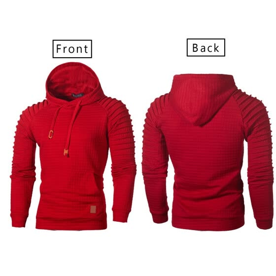 SUNSIOM Mens Hoodie Sweatshirt Sweater Hooded Tops sportswear warm jacket Coat