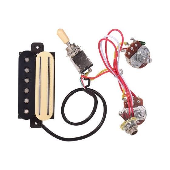 Shop Electric Guitar Dual Rail Bridge Humbucker Pickup and ... on