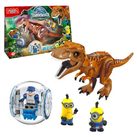 DIY Building Block, Jurassic Dinosaurs My World Figure Bricks Compatible With Legoingly Animal Toys For Children Gift