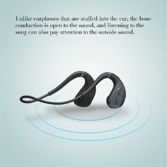 Auriculares Bluetooth de conducción ósea Memoria incorporada