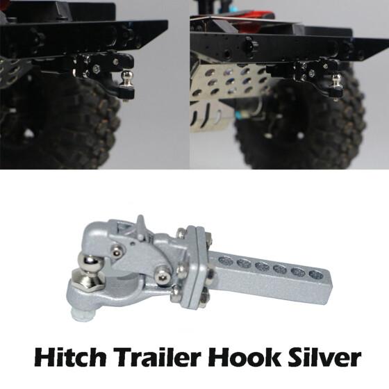 Metal Trailer Hook for SCX 10 Traxxas TRX4 RC Rock Crawler Car Accessories