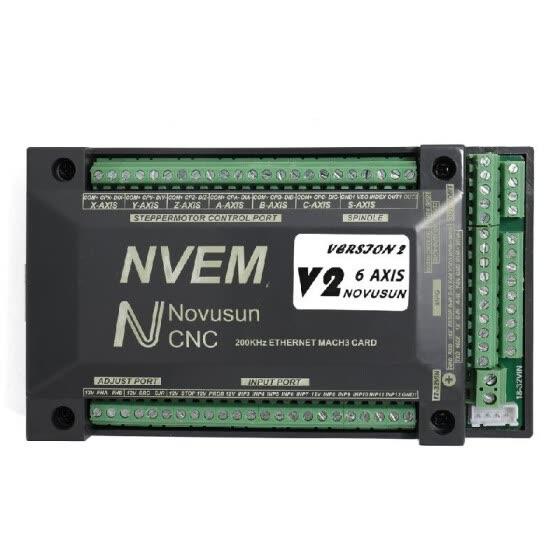 Shop 6 Axis NVEM CNC Controller 200KHz Ethernet Mach3 Motion Control
