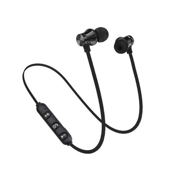 Shop Portable Wireless Headphones Bluetooth Earphones Headset Sports Sweatproof Earphones Magnetic Earpiece For Phones Online From Best Headphones On Jd Com Global Site Joybuy Com