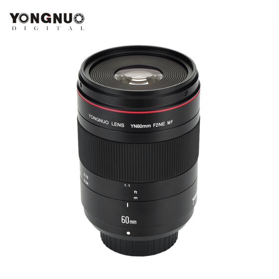 Shop YONGNUO YN60mm F2NE MF Macro Lens Manual Focus F2 Large