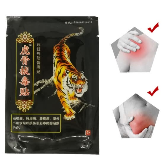 8PCS Tiger Balm Chinese Herbs Medical Plaster For Joint Pain Back Neck Curative Plaster knee pads for arthritis Curative