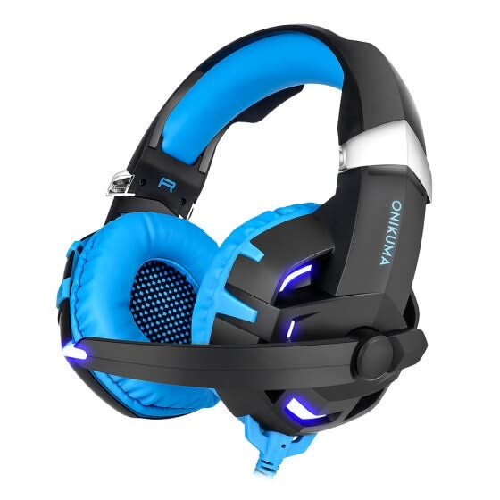 Shop ONIKUMA K2 Stereo Gaming Headset 2 2m Cable LED Light