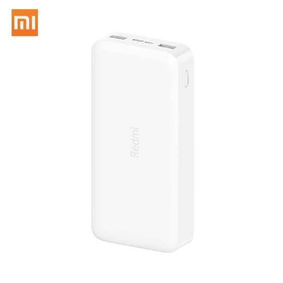 Xiaomi Redmi Powerbank 20000mAh Fast Charge Dual Input Dual USB Output Two-way 18W Fast Charging Power Adapter Portable USB Charge