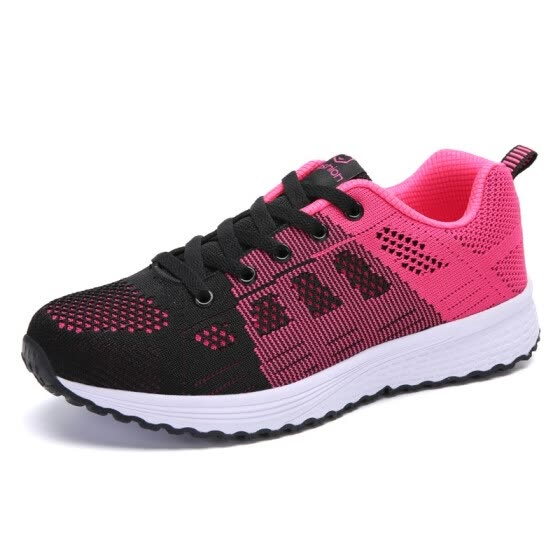Couple Shoes 2019 Summer New Mesh Female Sports Shoes Men and Women Comfortable Breathable Outdoor Casual Running Shoes