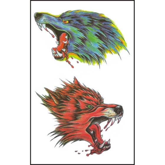 〖Follure〗Waterproof And Environmentally Friendly Tattoo Stickers For Wolves Arm Tattoo