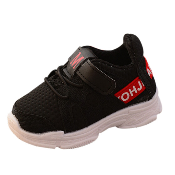 Children Kids Toddler Breathable Soft Bottom Sneakers Boys Girls Trainers Shoes