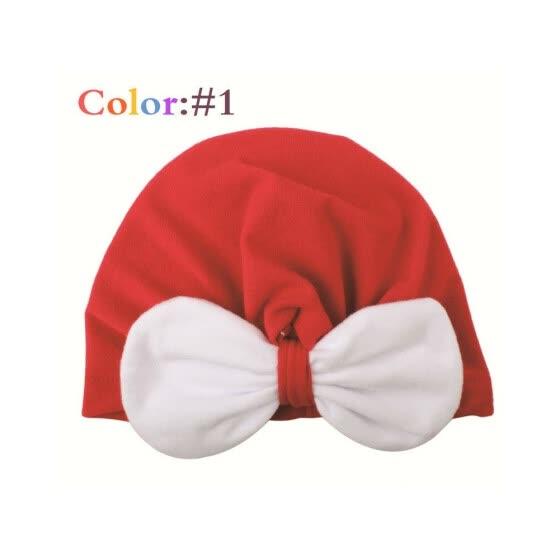 Baby Turban India Hat Velvet Tie Knot Beanie Cap Soft Warm Headwrap Hats