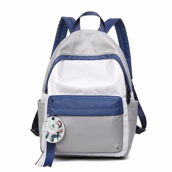 Large Capacity Oxford Backpack Women Waterproof Bagpack 14 Inch Laptop  Backpacks for Teenage Girls Cute Pink 8700ca1621