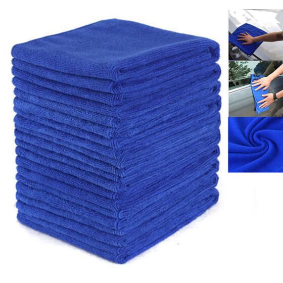 WXAN Auto Care Thick Plush Car Cleaning Car Microfibre Wax Polishing Towels