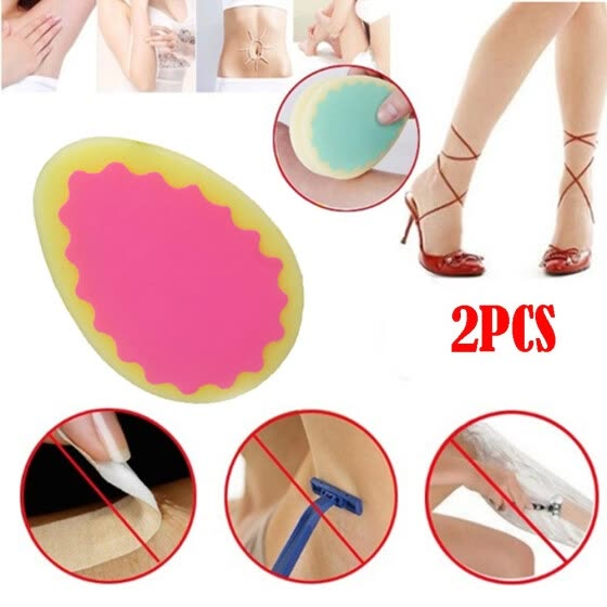 〖Follure〗Magic Painless Hair Removal Depilation Sponge Pad Remove Hair Remover Effective