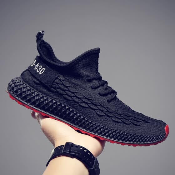 2019 summer new deodorant breathable canvas tide shoes men's sports and leisure wild trend men's shoes shoes shoes