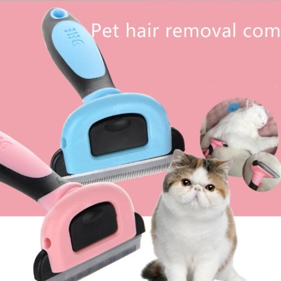 Pet Dog Removal Hair Comb Brush Cat Grooming Tool Furmins Hair Deshedding Clipper