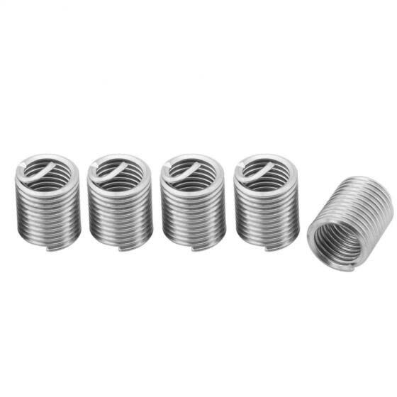Greensen 60pcs Stainless Steel Thread Repair Kit M3 M4 M5 M6 M8 M10 M12