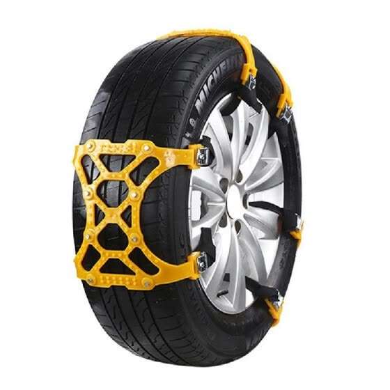 Universal Emergency Car Wheel Tire Snow Chain TPU Anti Skid Strap Vehicle Off-Road Safe Tire Wheel Chain