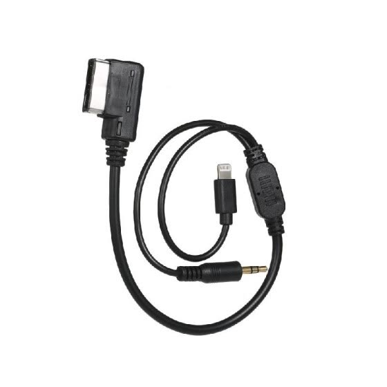 Shop 3 5mm AUX interface Adapter with line Fit For Audi VW