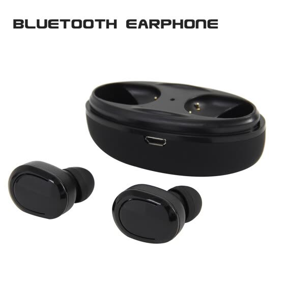 Shop Bluetooth Earphones Double Stereo Wireless Earbuds Bass Bluetooth Headset Handsfree For Smart Phone Pc Pad Audio Call Online From Best Furniture And Decor On Jd Com Global Site Joybuy Com