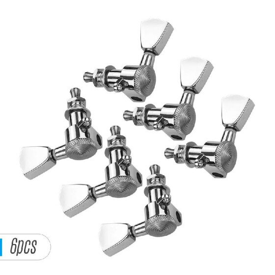 Knobs Tuning for 6 Pieces 3L 3R Acoustic Guitar Tuning Pegs Machine Head Tuners