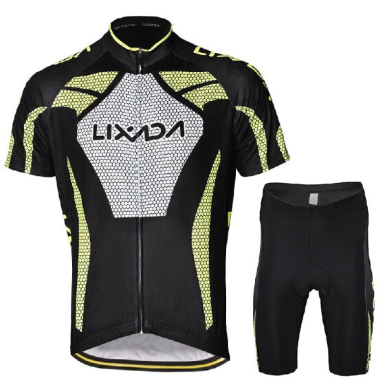 Men/'s Bicycle Cycling Bike Clothing  Jersey Sets Bicycle Breathable Sportswear