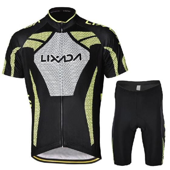 Mens Cycling Jersey Short Sleeve Men Breathable Cool Short Sleeve Cycling Jersey