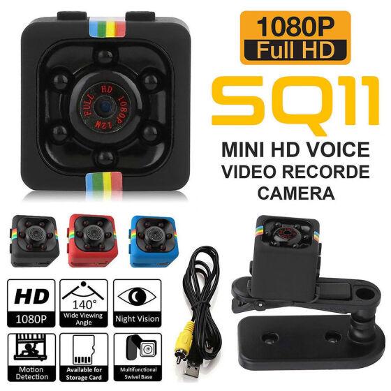 1080P HD Mini Hidden SPY Camera Night Vision Motion Detection Video Recorder Cam
