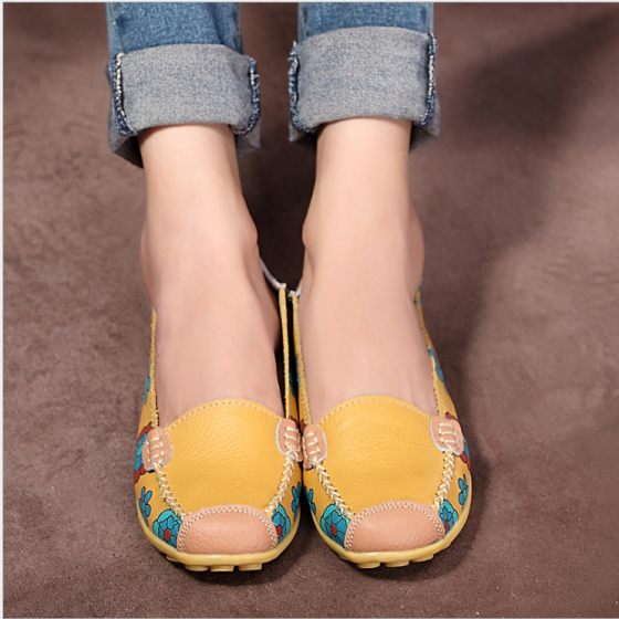 8f3307a4c87f Women driving shoes fashion new model fiat casual shoes Pregnant woman shoes