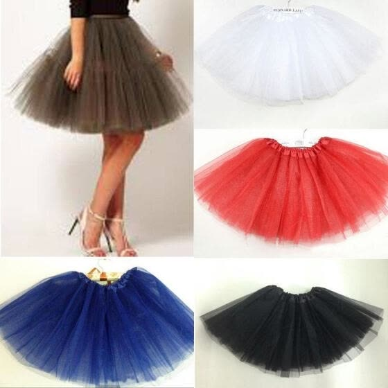 Adult Women Girl Princess Pettiskirt Party Ballet Tutu Skirt Mini Dress New