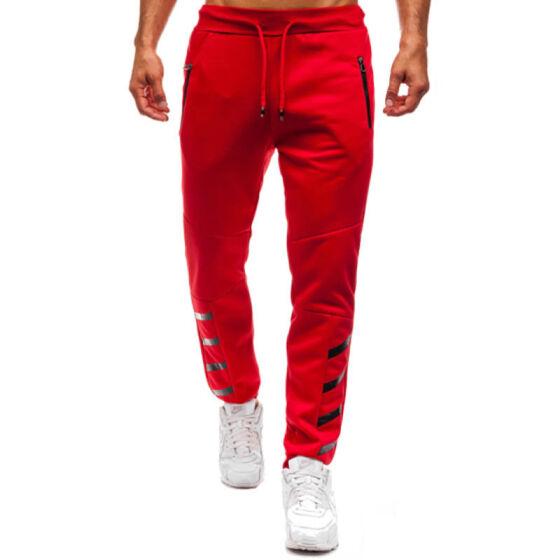 Mens Met-X Jogging Bottoms Casual Slim Fit Pants Mens Trouser Fitness Fashion G