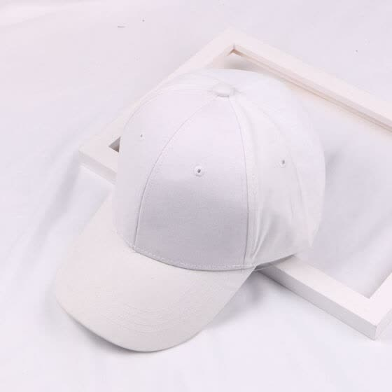 Hot new Korean star light baseball cap solid color Cap men and women Joker outdoor sports couples wholesale