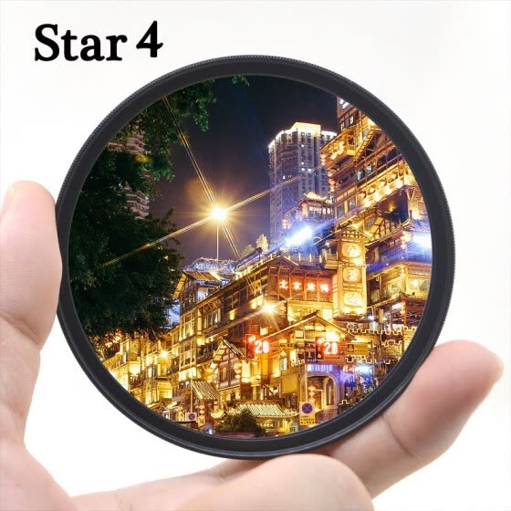KnightX star line 4x 6x 8x Camera Lens Filter For Canon Nikon 1300d d600 d70 18-200 color d5300 49mm 52mm 55mm 58mm 62mm 67mm 72mm