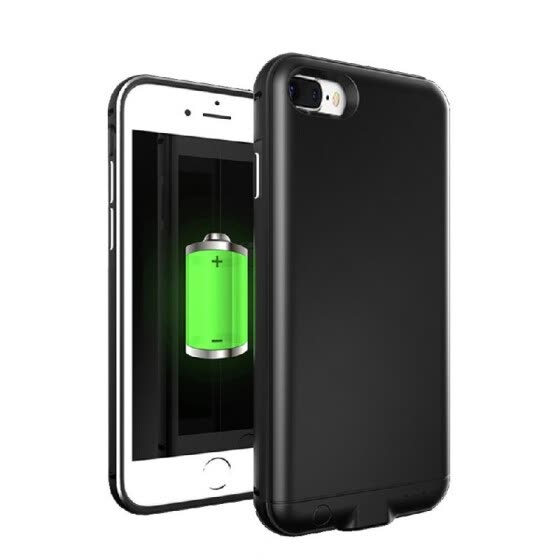 For iPhone 7 8 Plus 4000mAh External Battery External USB Port Power Bank Charger Pack Backup Battery Case
