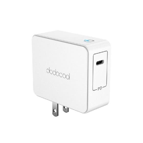 dodocool ETL Listed 45W USB Type-C Wall Charger Power Adapter with Power Delivery for Apple MacBook/iPhone X/8 Plus/8/New iPad Pro