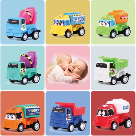 Shop 8pcs Lot Pull Back Car Toy Mini Cars Cartoon Kids Toys For Children Boys Gifts Online From Best Educational Toys On Jd Com Global Site Joybuy Com